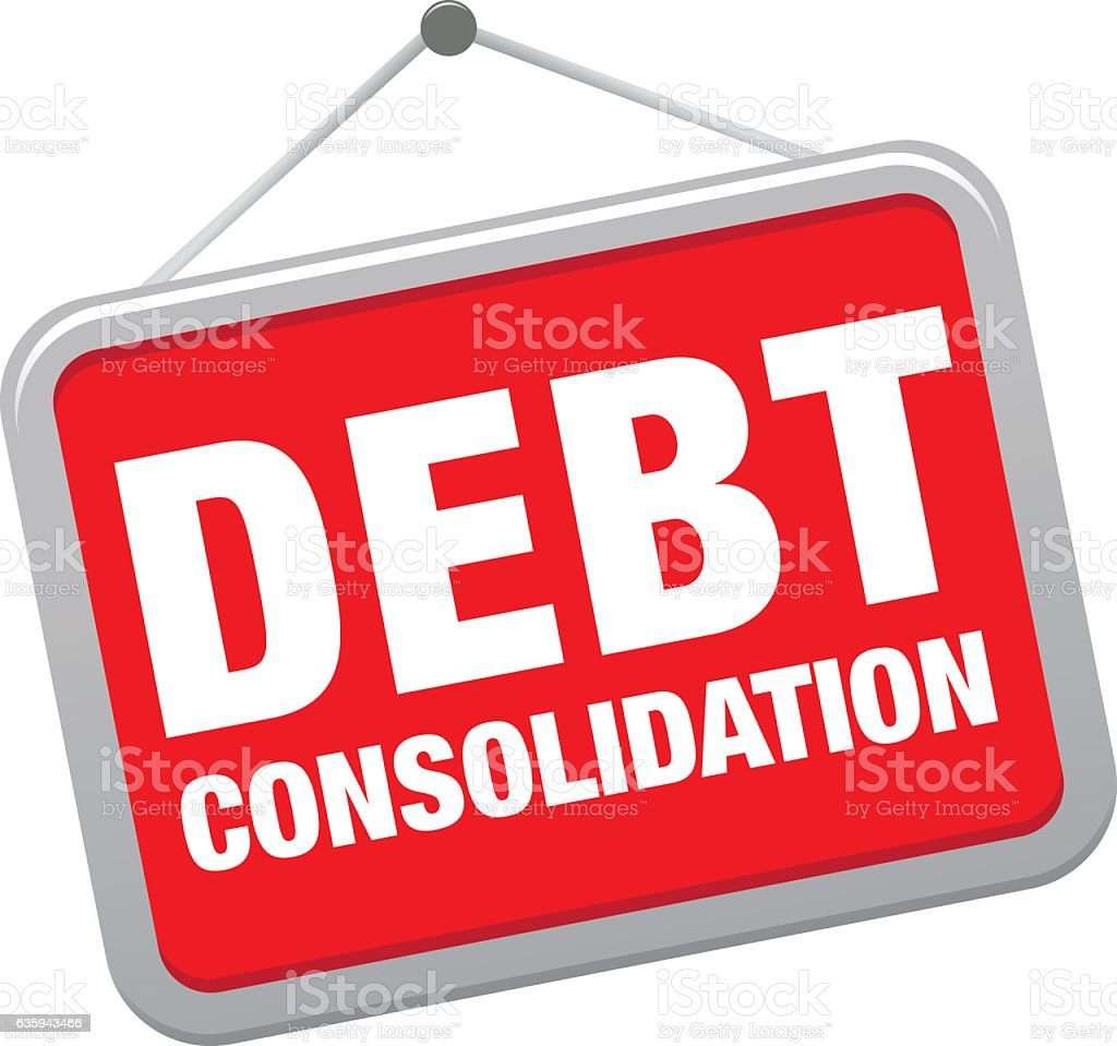 Royalty Free Debt Consolidation Clip Art, Vector Images ...