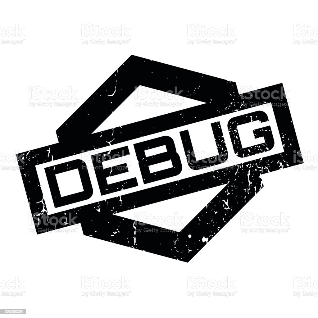Debug rubber stamp royalty-free debug rubber stamp stock vector art & more images of aging process
