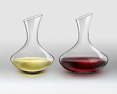 istock Decanters with wine 841838086