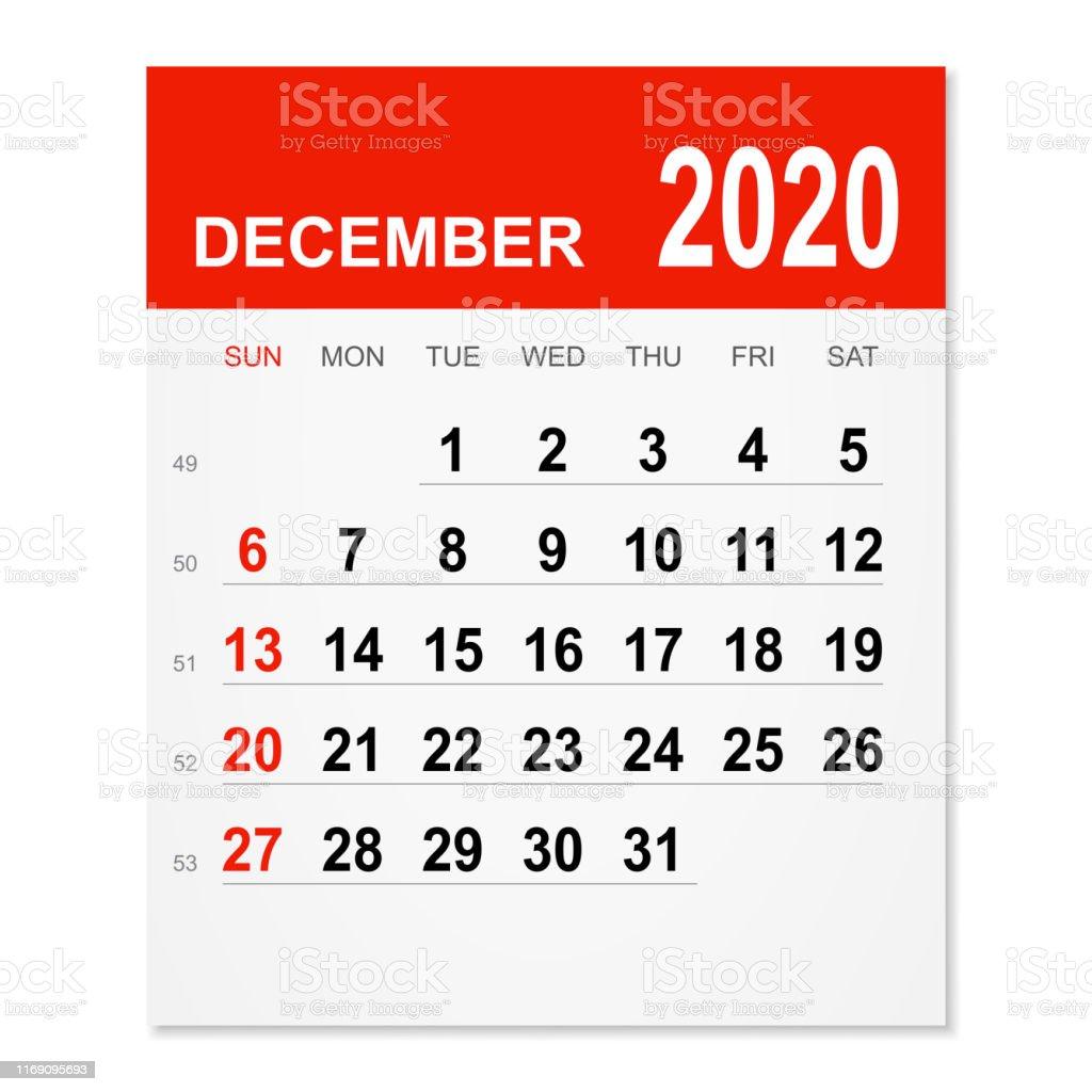 年12月カレンダー 年のベクターアート素材や画像を多数ご用意 Istock