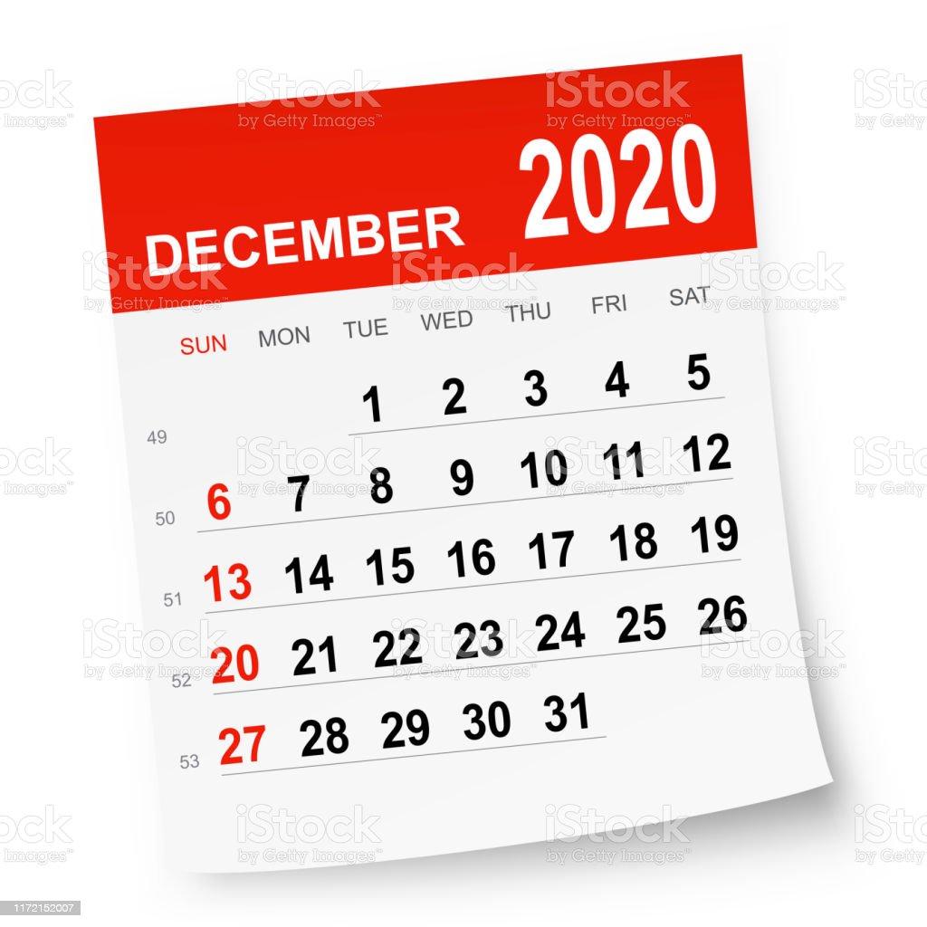 Calendrier Decembre 2020.Calendrier Decembre 2020 Vecteurs Libres De Droits Et Plus D