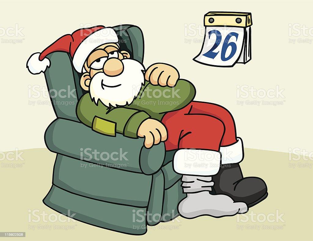 December 26th Santa Stock Vector Art & More Images of Boot 115922506 ...