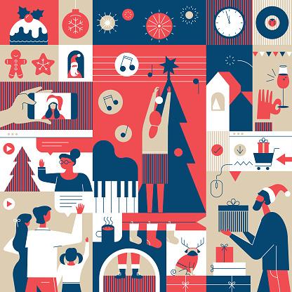 December Holidays Spirit