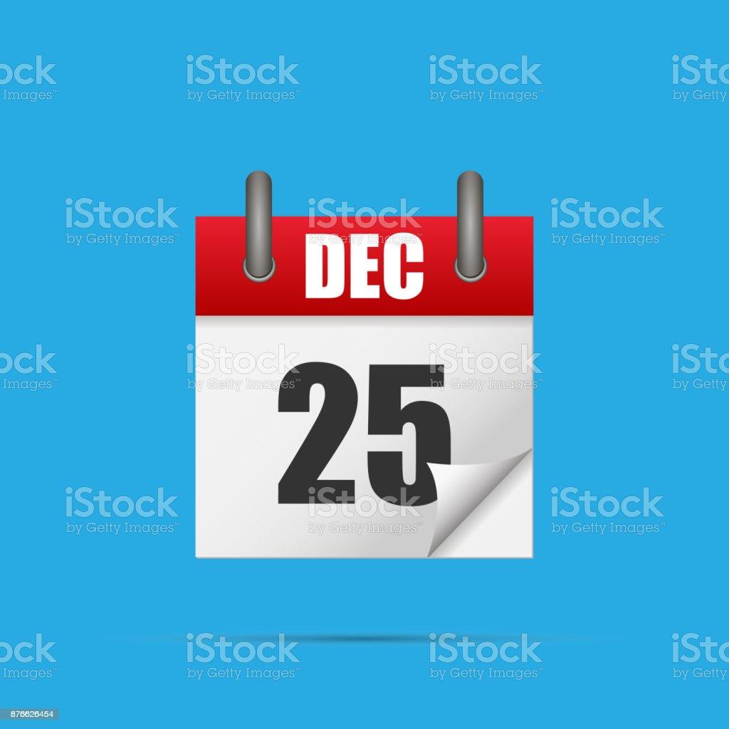 25 Dezember – Vektorgrafik