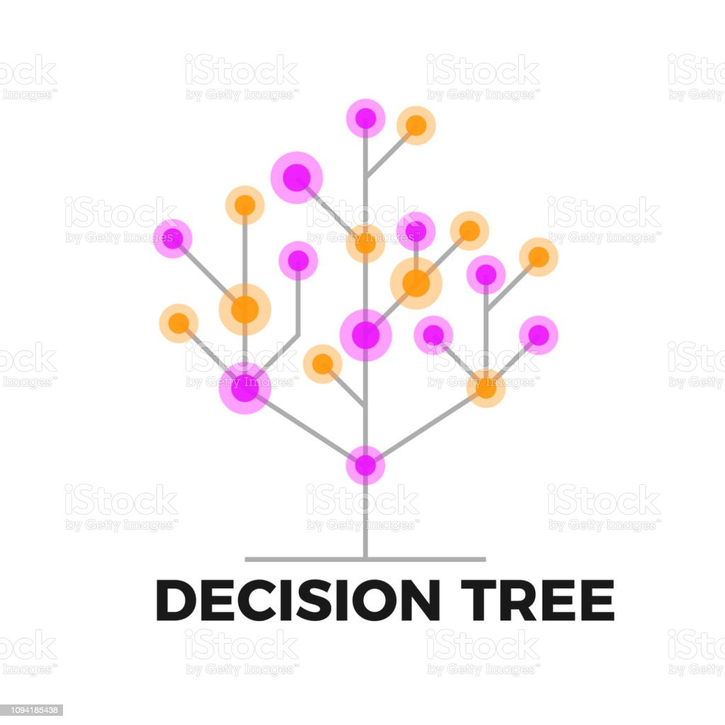 Decision tree icon royalty-free decision tree icon stock illustration - download image now