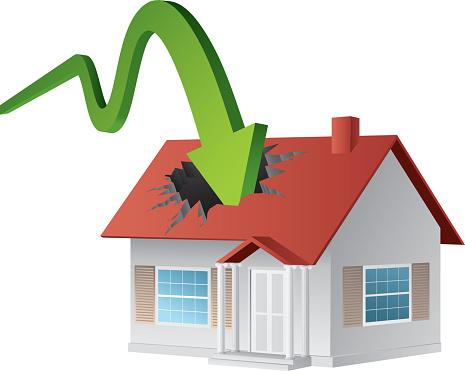 Decline of property market