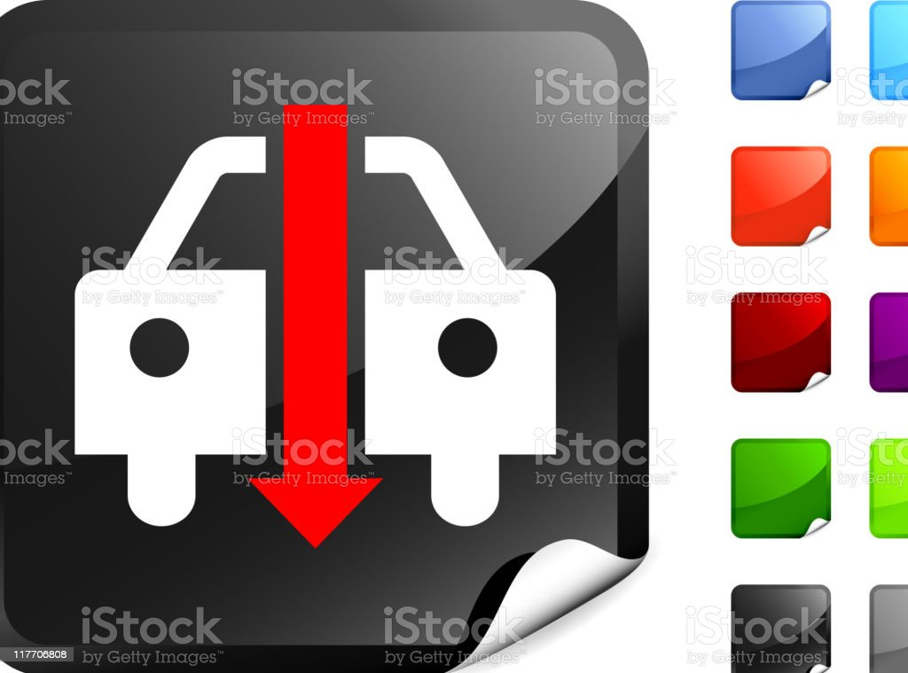 declining auto sales internet royalty free vector art royalty-free stock vector art