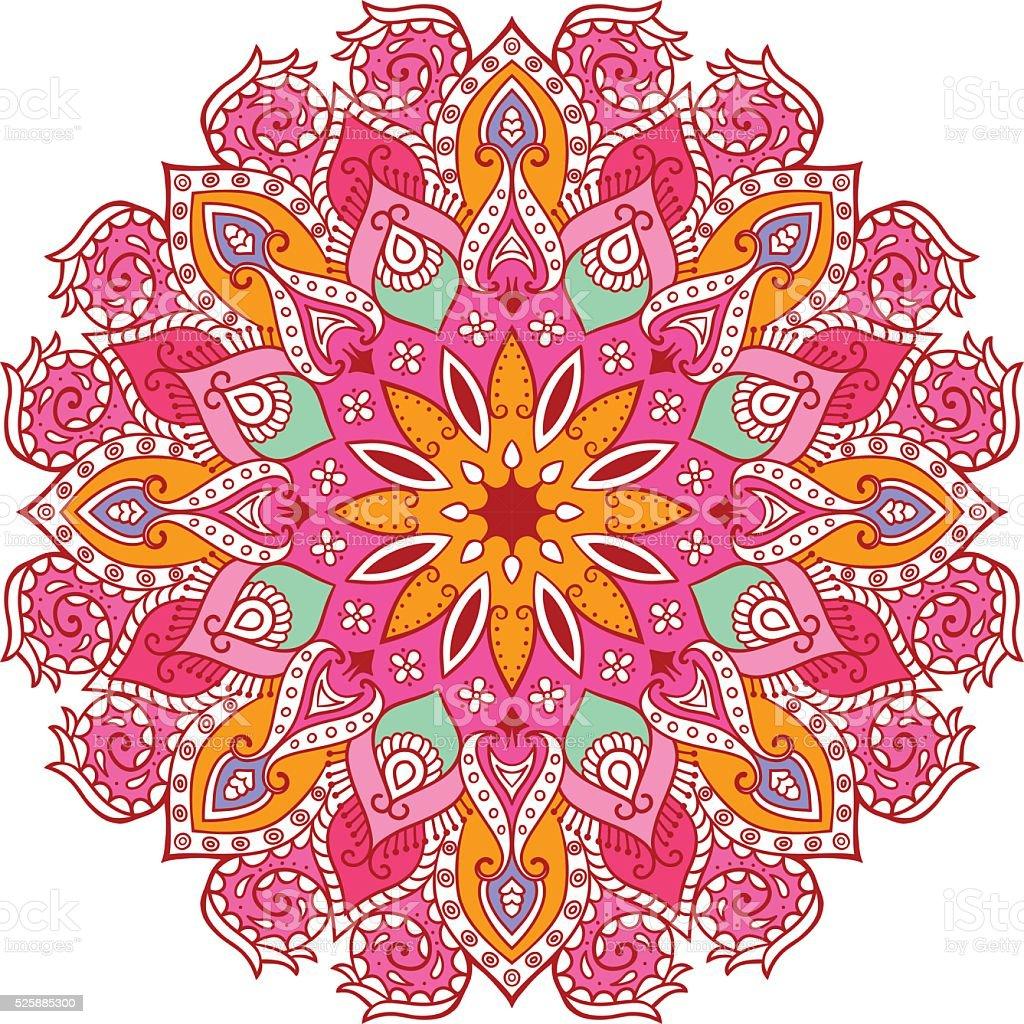 Decorazioni Floreali Mandala Immagini Vettoriali Stock E Altre