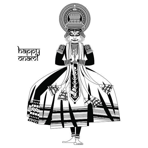 496 Kathakali Dancing Illustrations Royalty Free Vector Graphics Clip Art Istock