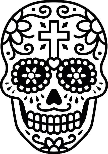 foto de Sugar Skull Clip Art Vector Images & Illustrations iStock