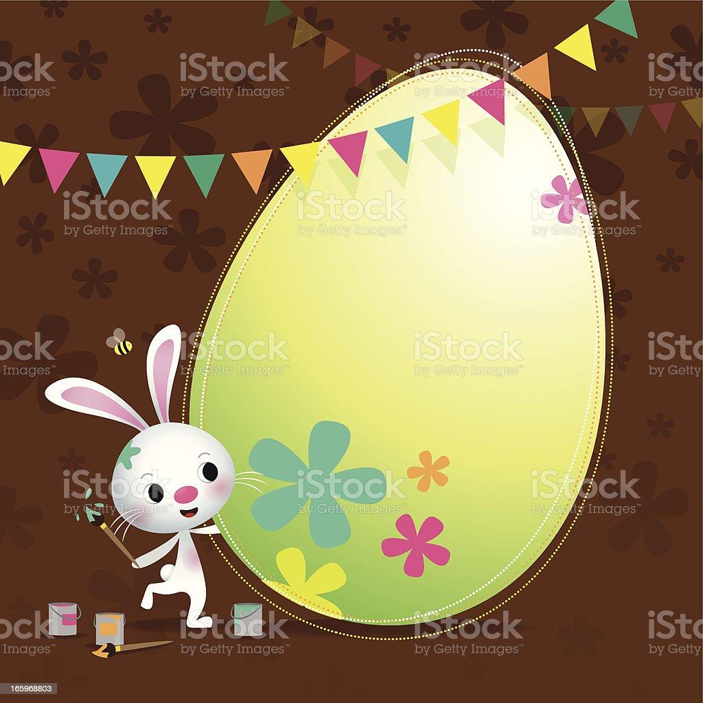 Dekorierte Eier – Vektorgrafik