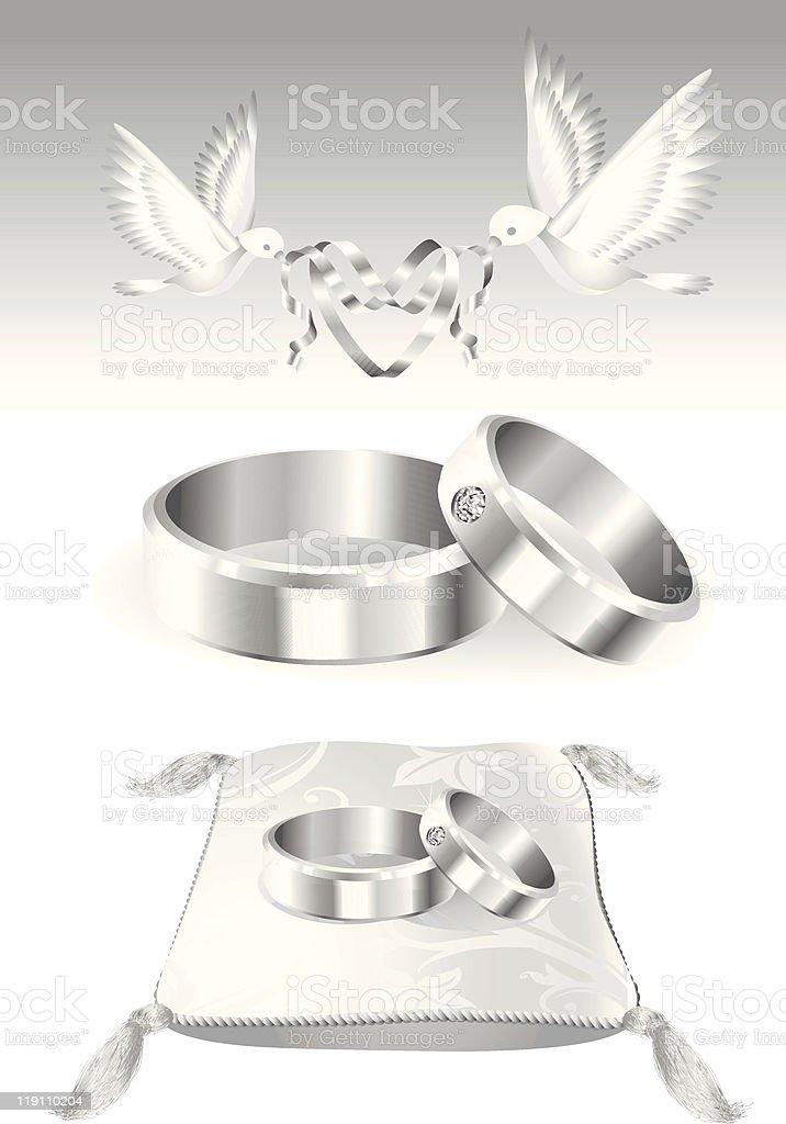 Elementos de decoraci n para bodas de plata arte vectorial de stock y m s im genes de amor - Elementos de decoracion ...