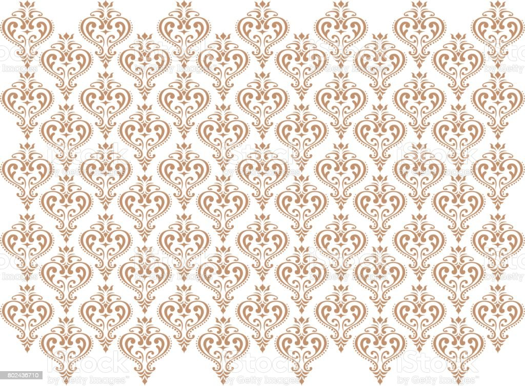 decoration wall paper, vector vector art illustration