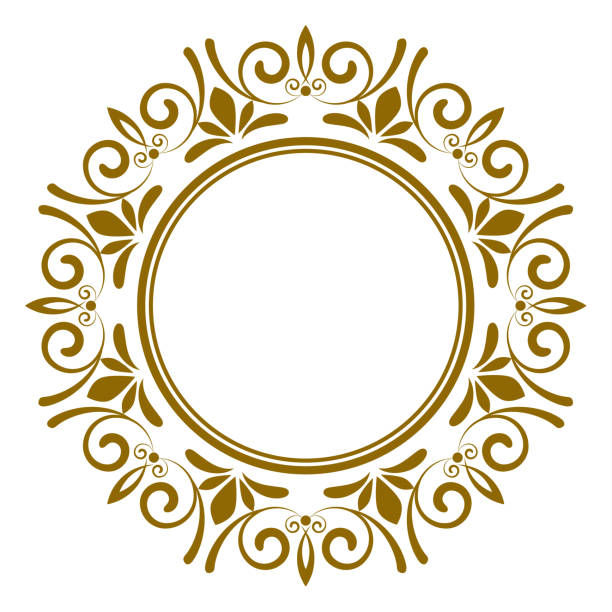Decorative art frames vector art illustration