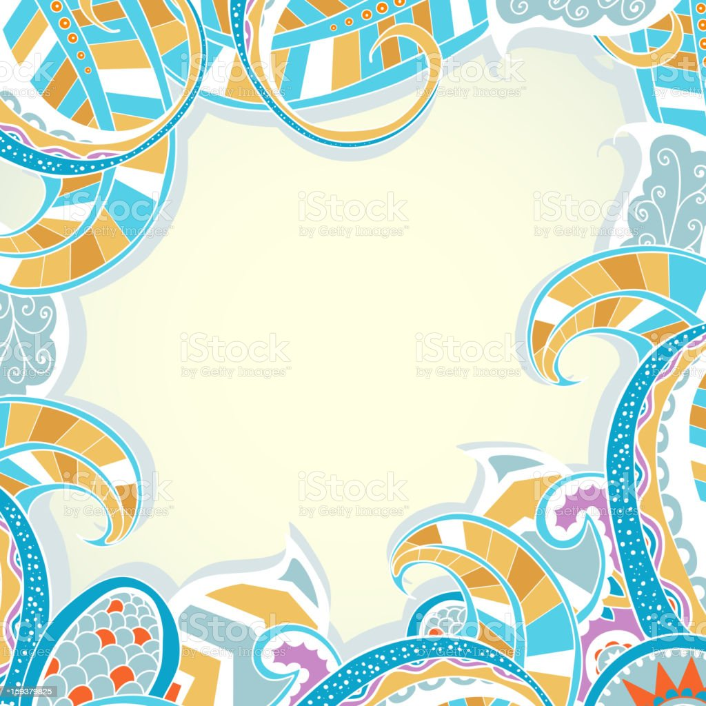Decorative background. royalty-free decorative background stock vector art & more images of abstract