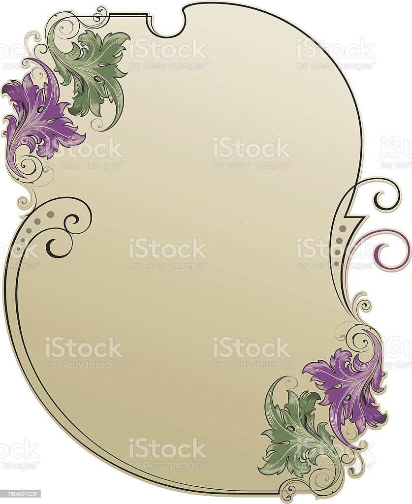 Decorative Background vector art illustration