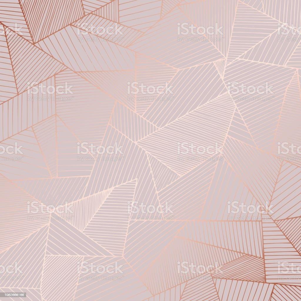 Decorative background with rose gold imitation - Grafika wektorowa royalty-free (Abstrakcja)