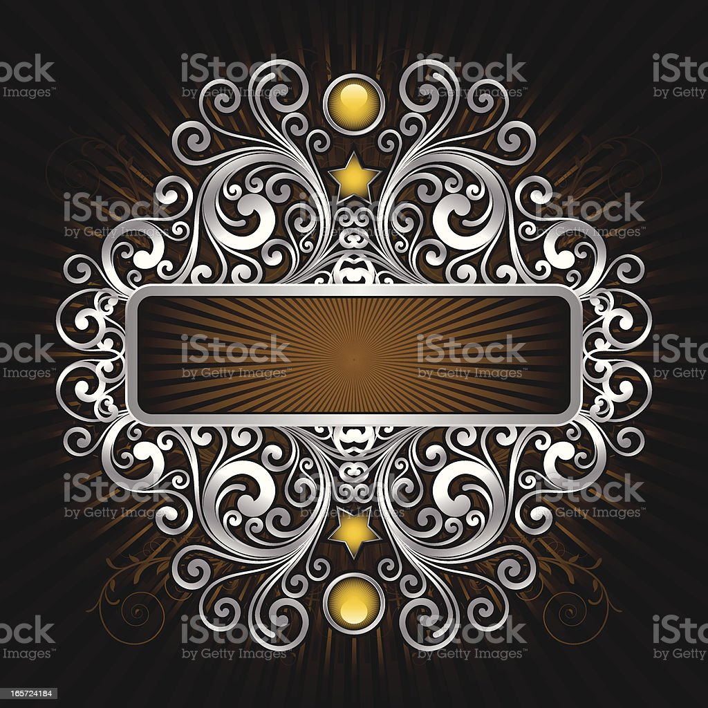 Decorative Banner royalty-free stock vector art
