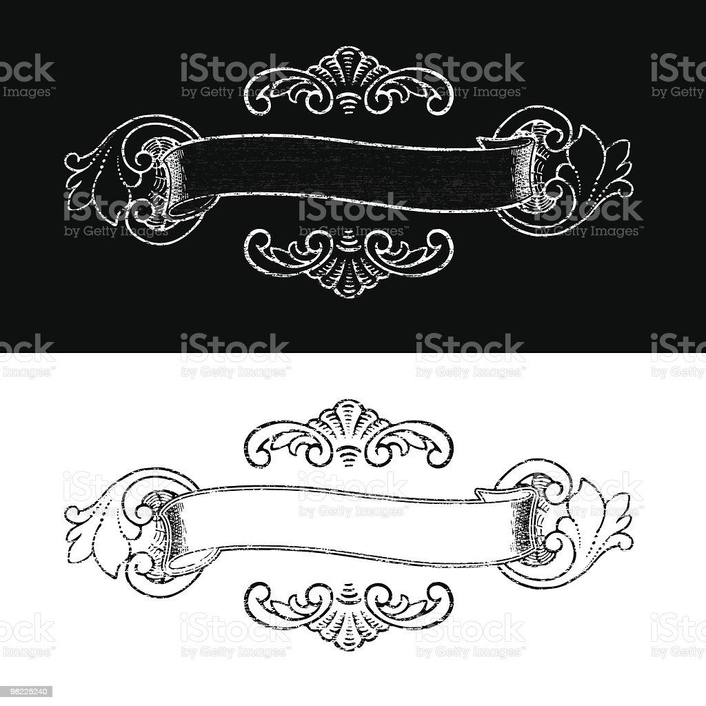 Decorative Banner royalty-free decorative banner stock vector art & more images of black and white