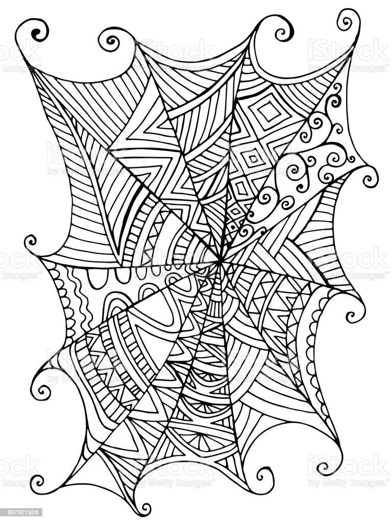 Ilustración de Decorativo Hermoso Araña S De Los Niños Libro Para ...