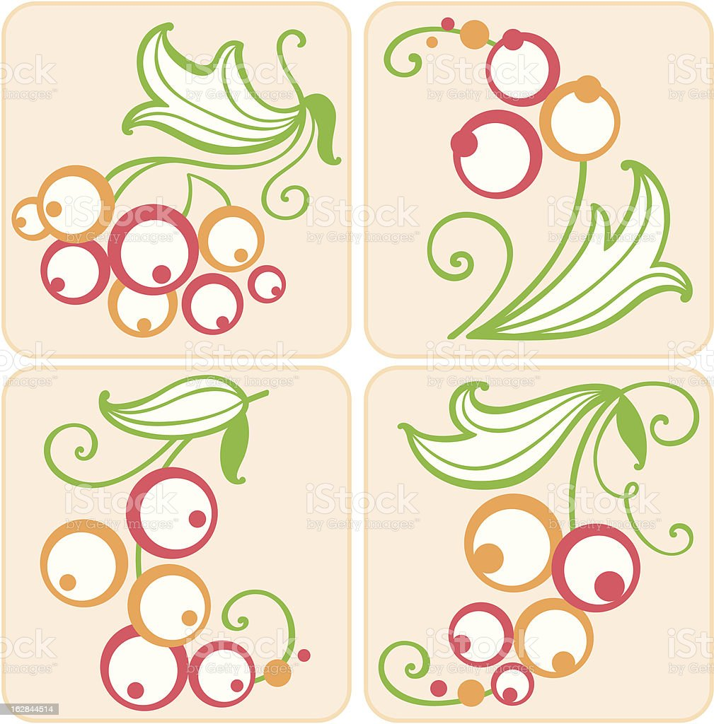 Decorative berries royalty-free decorative berries stock vector art & more images of abstract