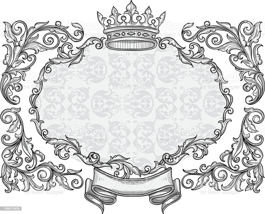 Decorative blank royalty-free stock vector art