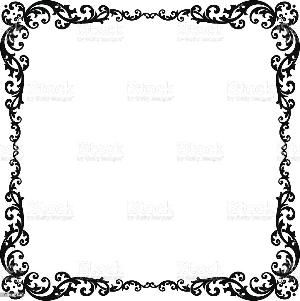 Decorative Border Design Stock Vector Art & More Images of ...