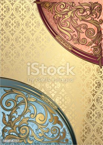 istock Decorative corners 165818727