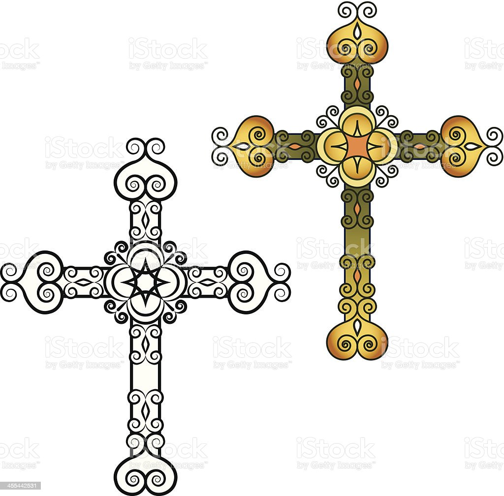 chaba style cross wall shop home antique chabaline layered products decorative front brand by white decor d cor