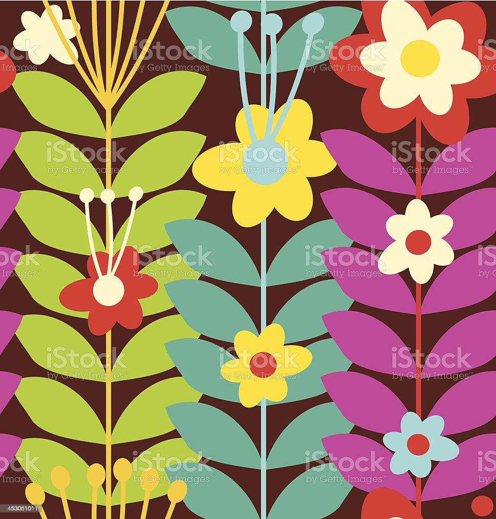 Decorative doodle background. Summer texture vector art illustration