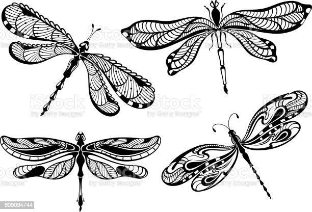 Decorative dragonflies set vector id809094744?b=1&k=6&m=809094744&s=612x612&h=s8qyasgnhucb8hv53xjs6r8pjgdaepulecovnig4qbc=