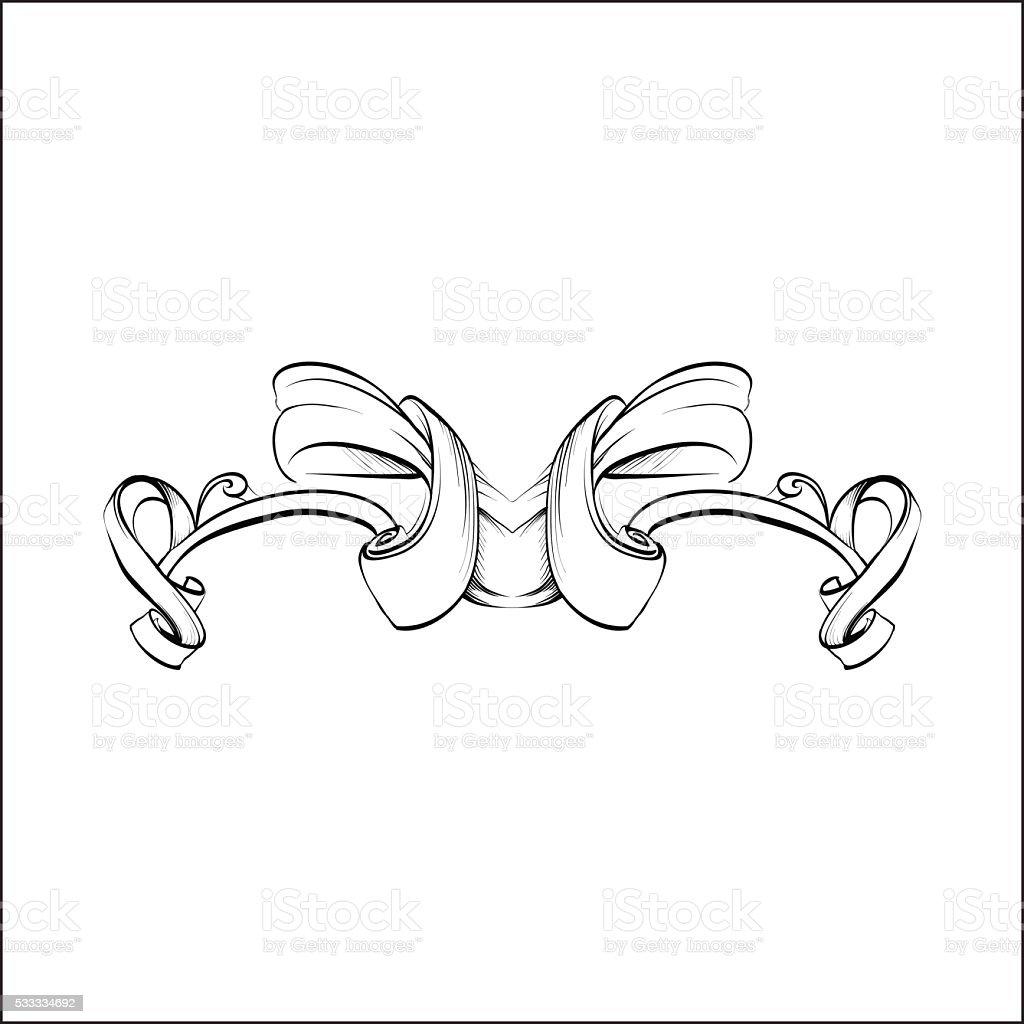 Ilustración de Elementos Decorativos De Diseño De Estilo Vintage ...