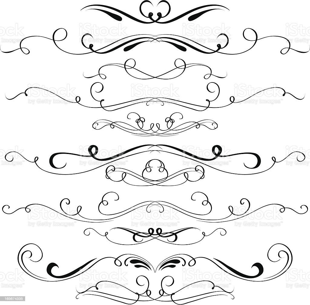 Decorative elements royalty-free decorative elements stock vector art & more images of abstract