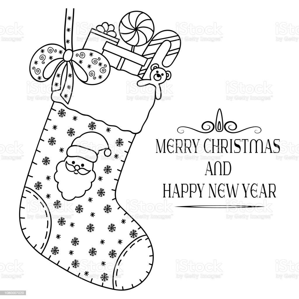 Frohe Weihnachten Schriftzug Zum Ausmalen.Dekorative Festliche Schriftzug Text Grüße Frohe Weihnachten Und