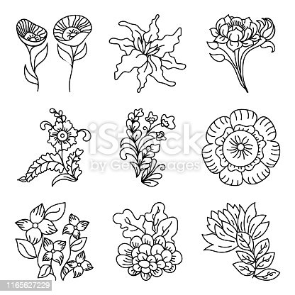Beautifully designed decorative floral design elements and floral pattern vectors are here in hand drawn style. Creatively designed vectors are easy to use. Happy downloading!