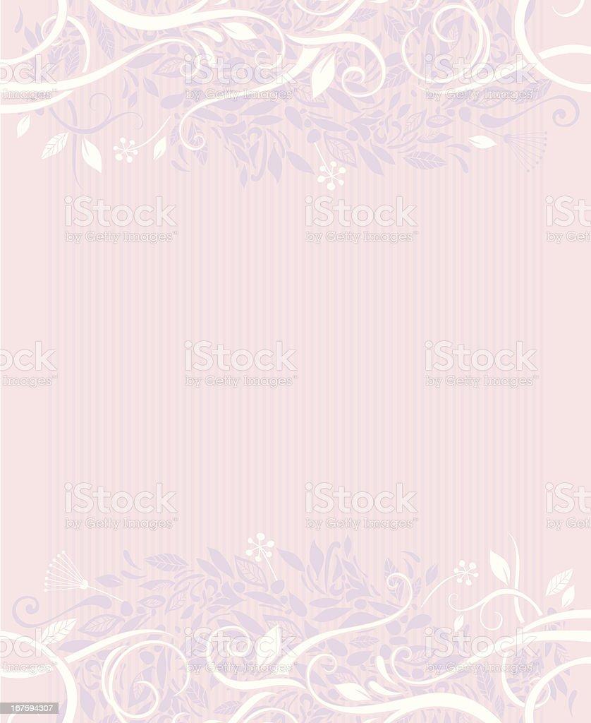 Decorative foliage background royalty-free stock vector art