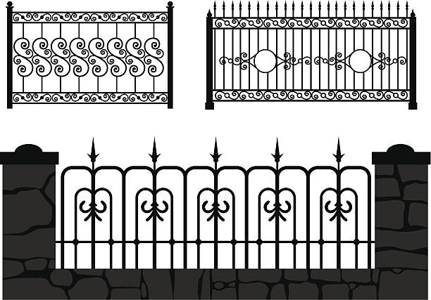 Gate Ornament Vector Images Over 2 500