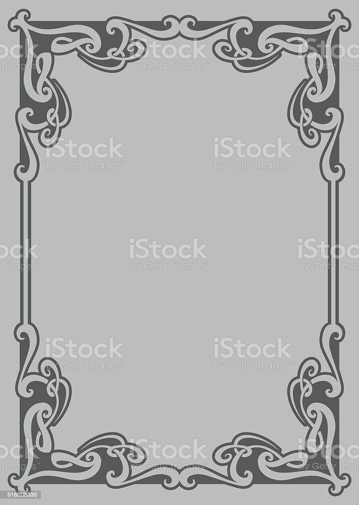 Marco decorativo ilustración de marco decorativo y más vectores libres de derechos de adorno de navidad libre de derechos
