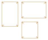 A frame that gave a change in size to the same design.Good frame for a4 size paper.Certificate frame.