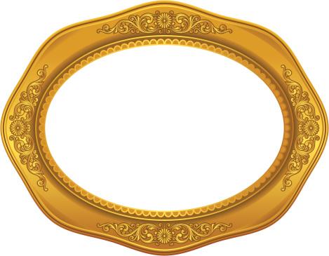Decorative Golden Frame