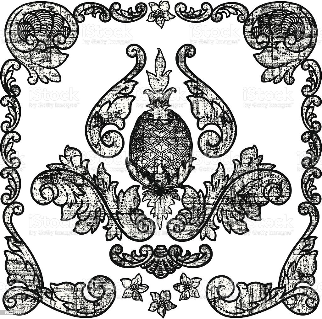Decorative Grunge Design Elements royalty-free decorative grunge design elements stock vector art & more images of black and white
