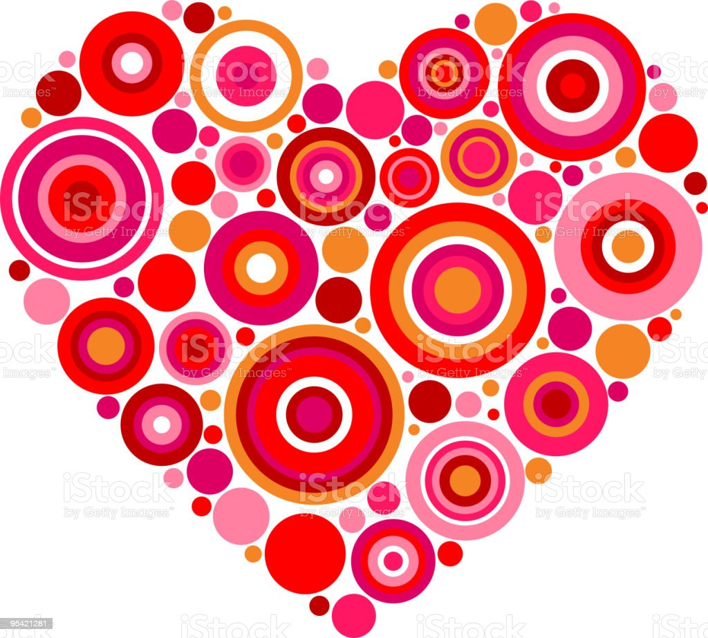 decorative heart, vector illustration royalty-free decorative heart vector illustration stock vector art & more images of abstract