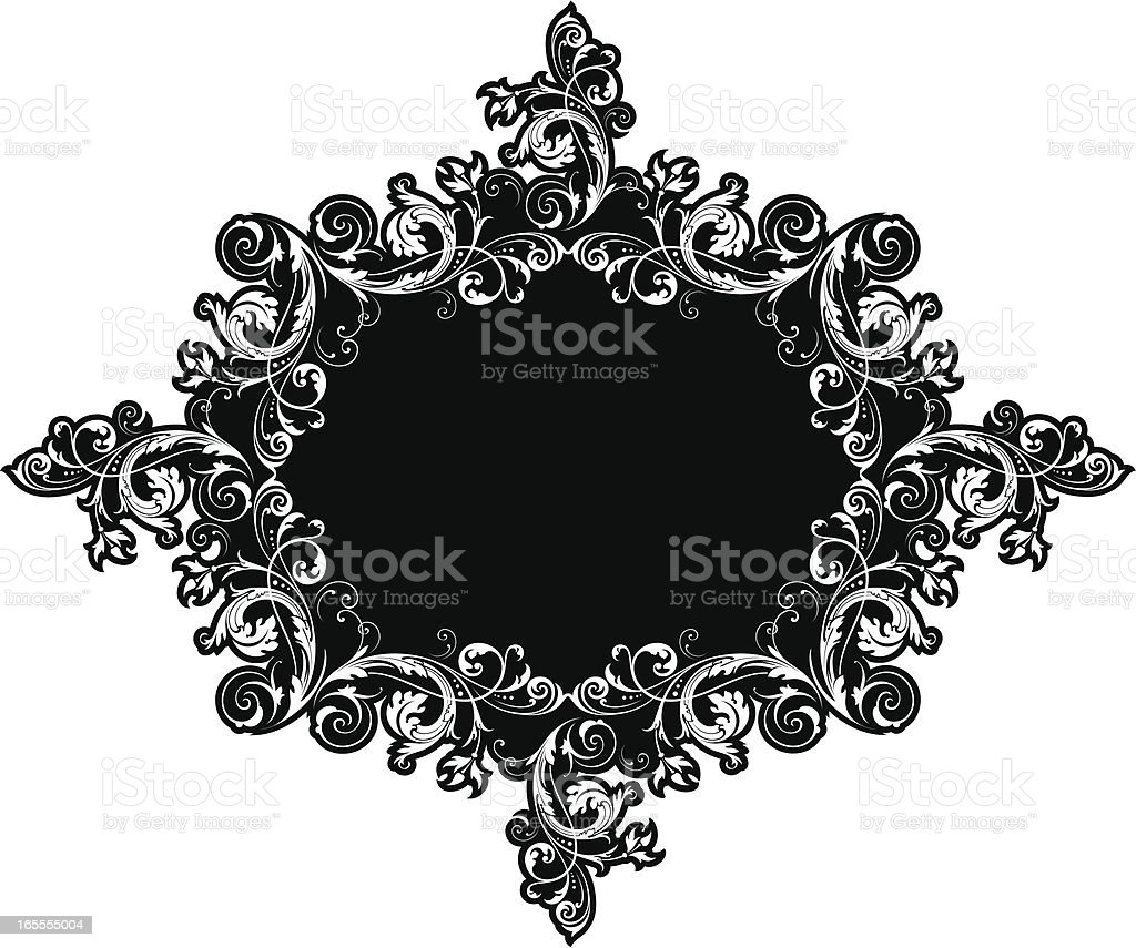 Decorative Label Design royalty-free stock vector art