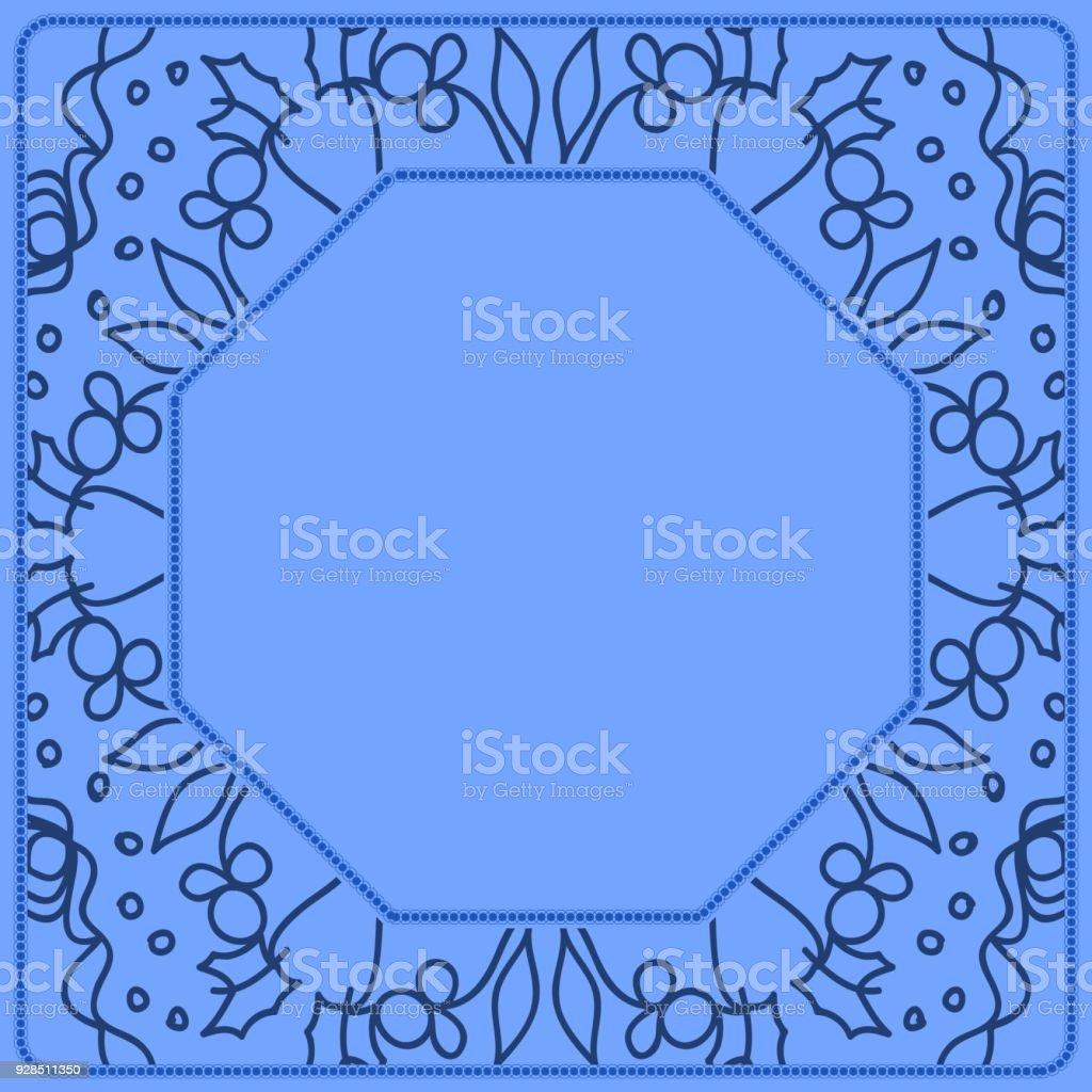 Decorative Line Art Frames For Design Template Lace Vector