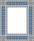 Decorative Mexican Frame