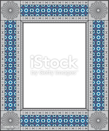 decorative mexican frame stock vector art 165628732 istock - Mexican Frame