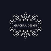 Decorative monogram