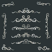 Calligraphy, Ribbon - Sewing Item, Vector, Knick Knack, Flower