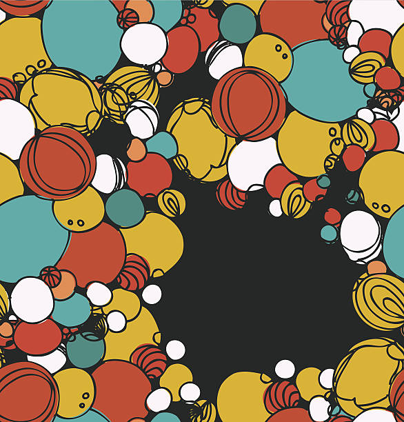 dekorative original banner - kieselsäure stock-grafiken, -clipart, -cartoons und -symbole
