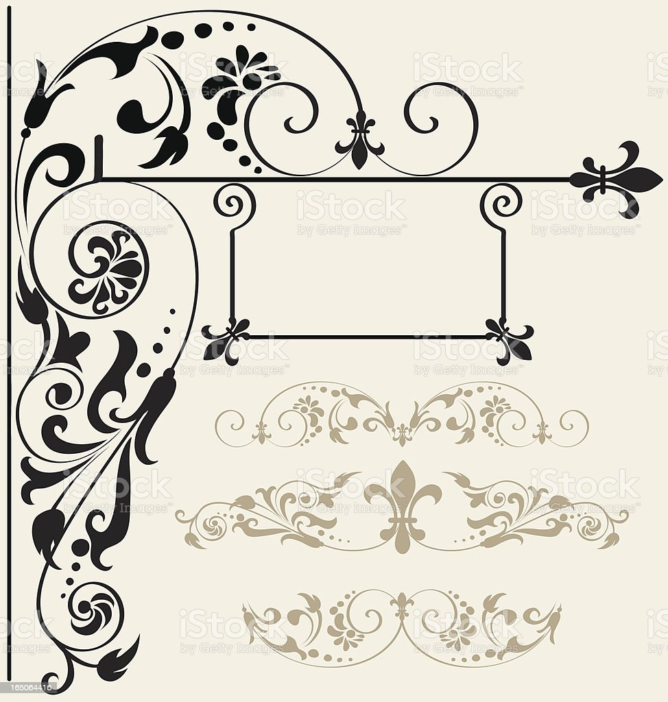 Decorative ornament royalty-free decorative ornament stock vector art & more images of advertisement
